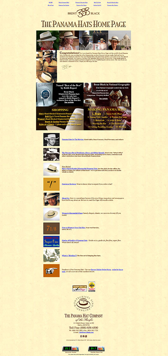 Brent Black's Old Home Page