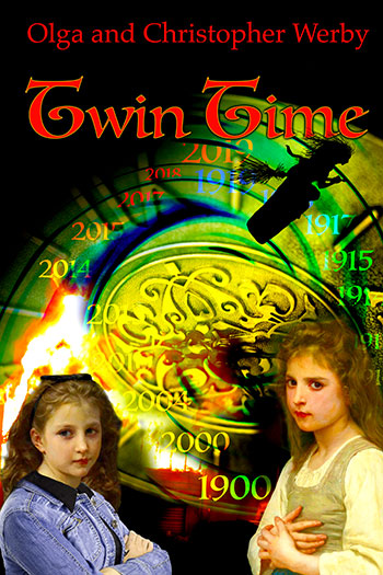 "Book Cover for ""Twin Time"""