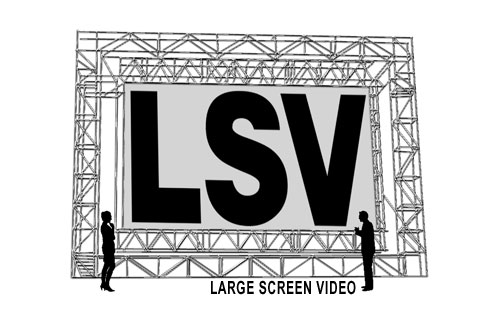 Logo for Large Screen Video