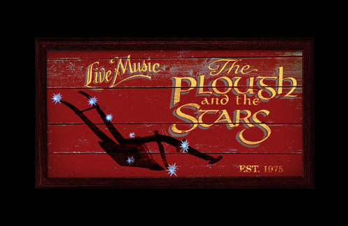Logo for Plough and Stars Irish Pub