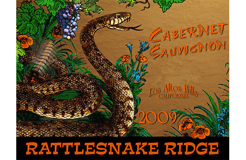 Logo for Rattlesnake Ridge Label