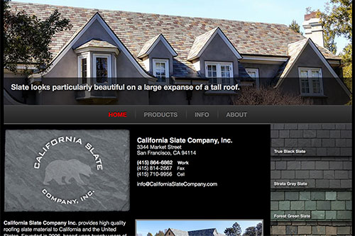 California Slate Home Page