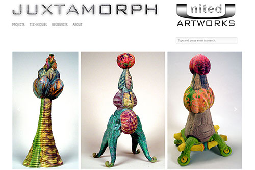 Juxtamorph — the Home page of United Artworks