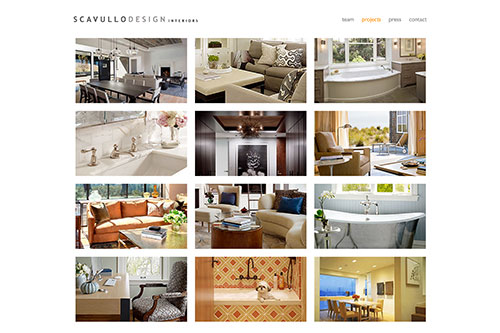 Scavullo Design — Projects